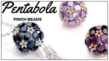 pentabola pinch beads